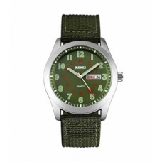 Skmei men,s green dial wrist watch 9112 (Product Code:AE 11)
