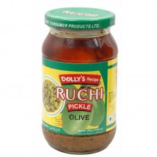 Ruchi Olive Pickle 400 gm (Product Code-DD9)